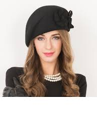 <b>Ladies</b>' <b>Beautiful</b> Wool With Flower <b>Beret Hat</b> (196106748) - Hats ...