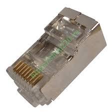 Купить Джек компьютерный с экраном RJ-45 8P-8C <b>cat</b>.<b>5e</b> Rexant ...