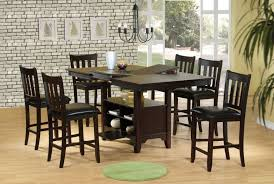 tall dining chairs counter: fresh idea to design your wooden counter height farm dining table