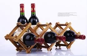 <b>Wooden Red Wine Rack</b> 3/5/6/10 Bottle Holder Mount Bar Display ...