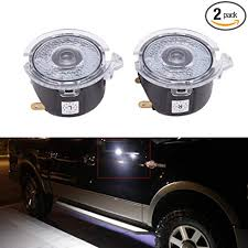 2pcs Car Door Welcome Logo Light Projector Ghost ... - Amazon.com