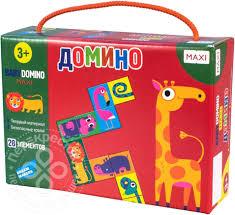 Купить <b>Игра настольная</b> детская <b>Dream Makers</b> Домино 28 ...