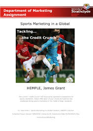 sports marketing in the credit crunch