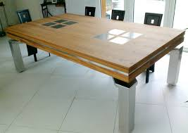 pool table dining tables:  dining table contemporary dining room baker stainless dining pool table dallas texas contemporary dining room