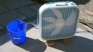 "Homemade Evaporative <b>Air</b> Cooler! - Simple ""Box Fan"" Conversion ..."