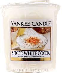 <b>Ароматическая свеча</b> - Yankee Candle <b>Spiced White</b> Cocoa:купить ...