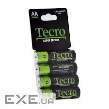 Battery Tecro Super Energy LR6-4SB(SE) BL 4 шт — order, buy ...