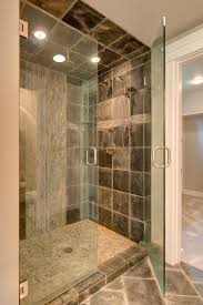 bathroom decoration lovely shower room in small with excerpt mosaic stone ideas yosemite home decor bathroomlovely images home office designs