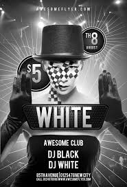 best ideas about flyer templates black and white club psd flyer template psdflyer com