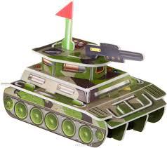 bondibon сборная 3d модель для раскрашивания танк вв2222
