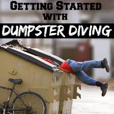 getting started dumpster diving survival mom getting started dumpster diving
