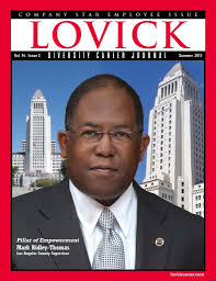 supervisor mark ridley thomas pillar of empowerment lovick in 1968 mark ridley thomas was a seventh grader at george washington carver middle school in southeast los angeles at victory baptist church near his