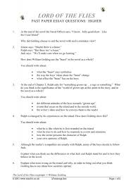 lord of the flies essay on society  lord of the flies essay on society