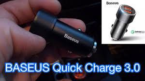 <b>Автомобильная зарядка Baseus</b> 36W Dual USB Quick Charge QC ...