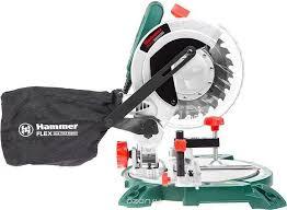 <b>Пила</b> торцовочная (стусло) <b>Hammer Flex STL1400</b>/<b>210</b> — купить в ...