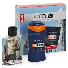 <b>Парфюмерный набор City</b> 3D Leader туалетная вода, 100 мл + ...