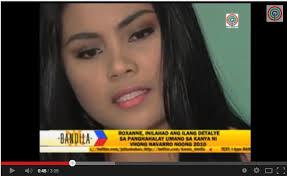 "Roxanne Acosta Cabañero: ""Vhong Navaro is a Comedian Monster"" -Video - Roxanne-Caba%25C3%25B1ero-Video"