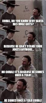 Coral! - Carl Walking Dead meme on Memegen via Relatably.com