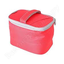 <b>Сумка</b>-<b>холодильник для косметики thermos</b> beautian bag red 4.5l ...