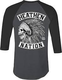 <b>Heathen Chief</b> Raglan (Grey/<b>Black</b>) | Amazon.com