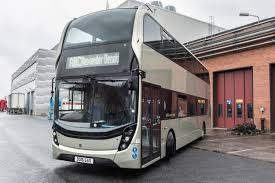 world s first double deck gas bus prepared for market release scania double decker