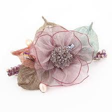 <b>Korea Hair Accessories Flower</b> Pearls Hair Clips For Women Crystal ...