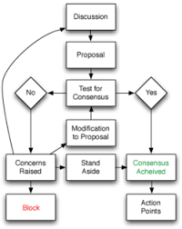 basics of consensus decision makingconsensus flow chart