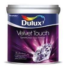 Dulux <b>Velvet</b> Touch - <b>Diamond</b> Glo Paint 1 Ltr (Golden Crown ...