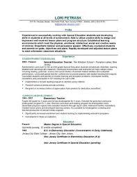 teacher resume templates   easyjob  teacher resume