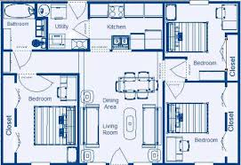 Simple House Plans Bedrooms   SpeedchicblogSimple House Plans Bedrooms