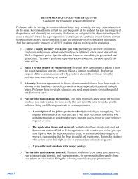 letter of recommendation guidelines recommendation letter  letters of recommendations guidelines and samples by help