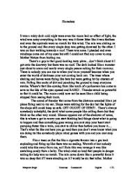 homeless   creative writing   gcse english   marked by teacherscom page  zoom in