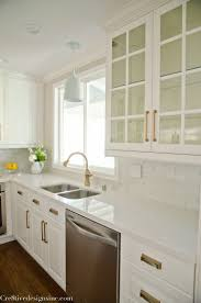 Ikea Kitchen Cabinet Hardware Kitchen Remodel Using Ikea Cabinets Counter Tops Are White Quartz