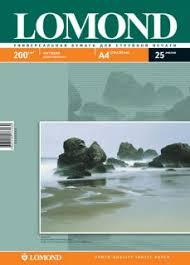 Double Sided Matt/Matt <b>Inkjet Photopaper</b>, A4, 200 gsm, 25 sheets ...