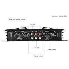 Audew 5800W алюминиевый сплав <b>автомобильный усилитель</b>...