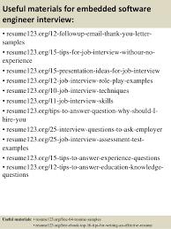 engineer resume sample  top   embedded software engineer resume samples