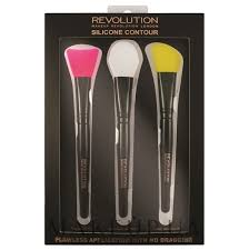 <b>Makeup Revolution</b> Silicone Contour Brush Set - <b>Набор</b> ...