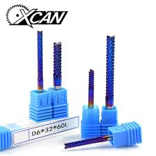 XCAN <b>1pc</b> 4mm/<b>6mm Shank Tungsten</b> Carbide Corn Milling Cutter ...