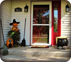 front porch decor switch outdoor halloween decorations my front porch