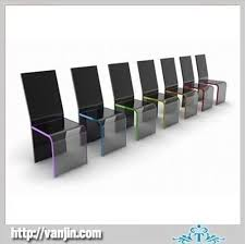 blak acrylic perspex dining chairs acrylic perspex furniture