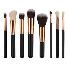 China New <b>Hot Sale 8PCS</b> Makeup Brush Set Private Label Accept ...
