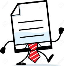 Resultado de imagen para documentos oficiales animados