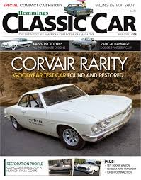Hot off the press: Yenko Corvair in Hemmings Classic Car ...