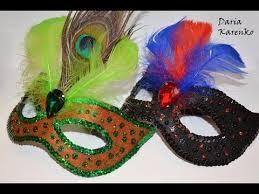 DIY Шикарная <b>карнавальная маска</b> своими руками / Mask of felt ...