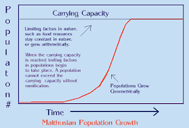 ccgif malthus would predict that disaster awaits us at some fixed value and its just a matter of time before we reach our food supply limit