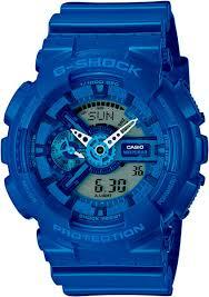 <b>Мужские</b> наручные <b>часы Casio GA</b>-<b>110BC</b>-<b>2A</b> кварцевые