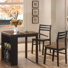 three piece dining set: wildon home ampreg  piece dining set with drop leaf