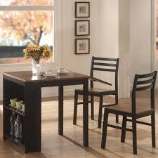 three piece dining set: wildon home ampreg  piece dining set with drop leaf