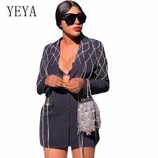 <b>YEYA</b> Sexy Backless Gold Sequin Dress <b>Women</b> Spring Long ...