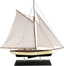 <b>Authentic Models</b> AS135 1930s Classic Yacht Large - Buy Online in ...